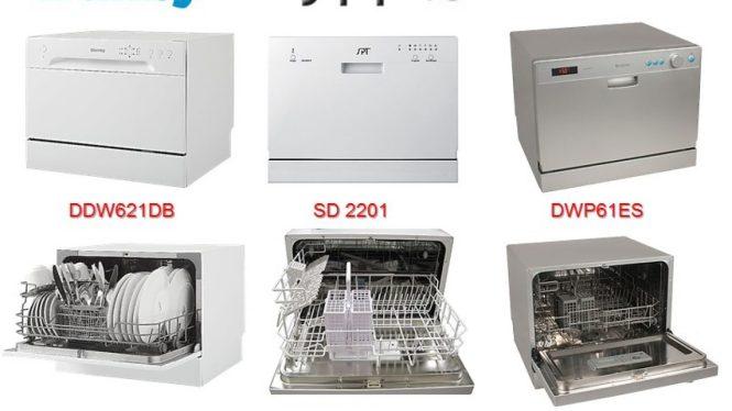 Countertop Dishwashers Danby Vs Spt