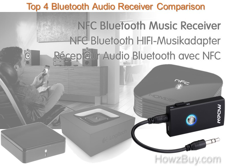 Top 4 Bluetooth Audio Receiver Comparison