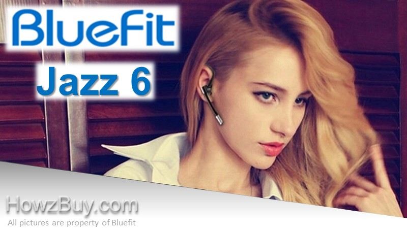 BlueFit JAZZ 6 Bluetooth Earpiece Headset with Microphone Review