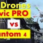 DJI Mavic Pro vs DJI Phantom 4 Drones Simplified Review