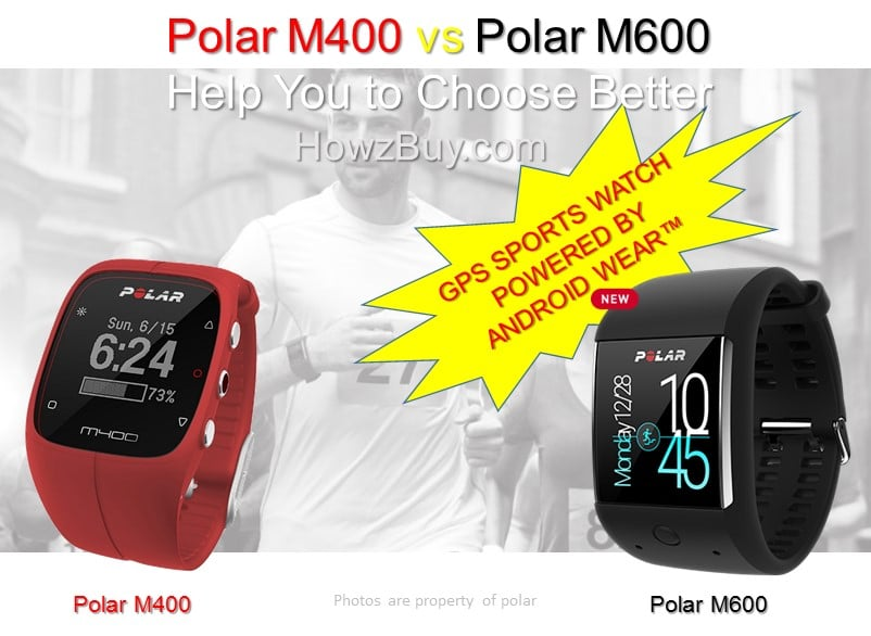 Polar M400 vs Polar M600 Comparison Review