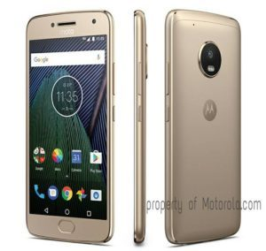 motorola g5 plus fine gold