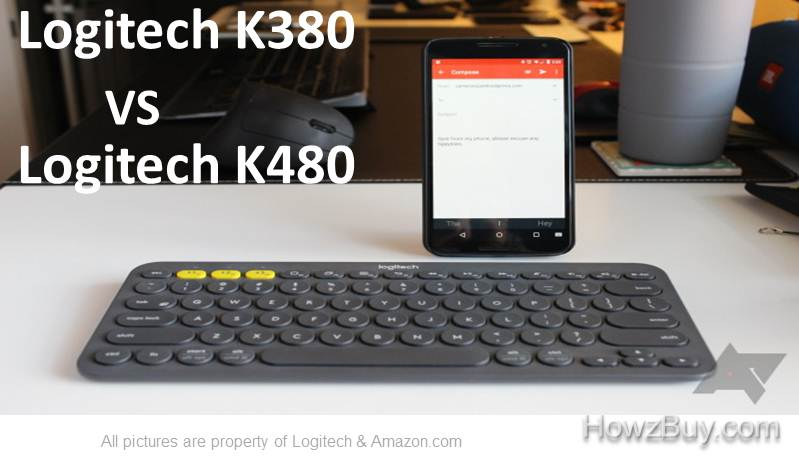 Logitech K380 VS Logitech K480 Comparison and Review