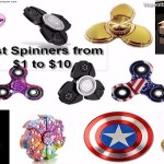 Best & Fastest Fidget Spinner to Buy from $1 to $10