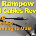 Best USB Cable for Apple iphone, Android & Type C Mobiles Hands On Review – Rampow
