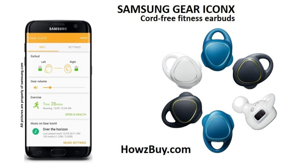 Best Headphone-Samsung Gear IconX-samsung-wireless-bluetooth-headphone-earbud-wireless headphone-battery life-review-earbud-neckband-waterproof-best-best seller-amazon