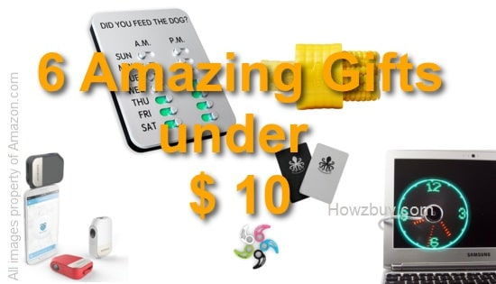 6 amazing gifts under $10