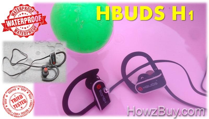 Hubds H1 waterproof sports headphones tested