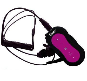 diver waterproof player earphones
