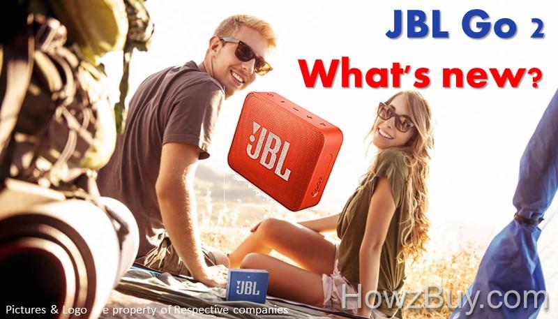 JBL Go vs Go 2 upgrade what's new