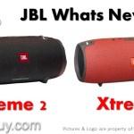 JBL Xtreme 2 vs Xtreme Review [New Waterproof Portable Speaker]