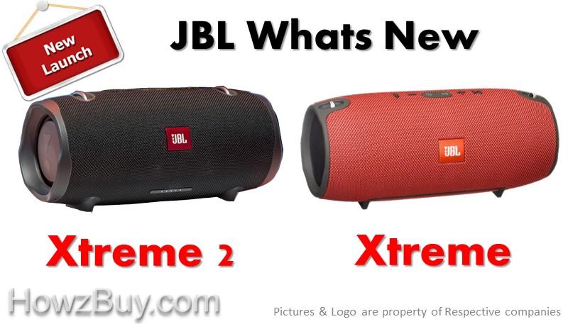 JBL Xtreme 2 vs Xtreme Waterproof Portable Speaker Comparison
