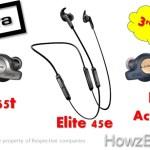 Jabra Elite 65t vs Active 65t vs Elite 45e Earbuds – New Launch