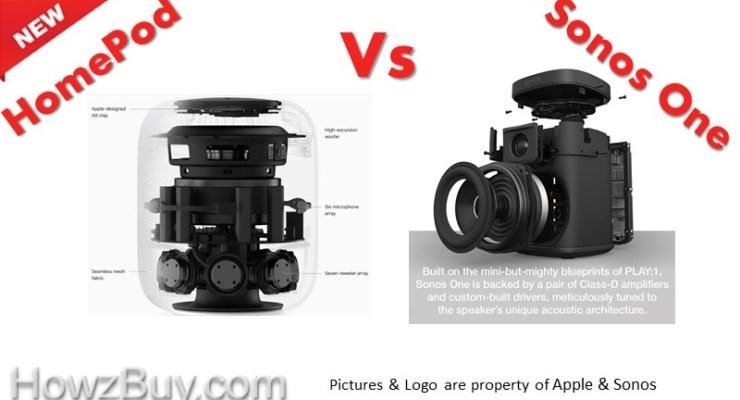 Sonos One vs. HomePod Better than Apple