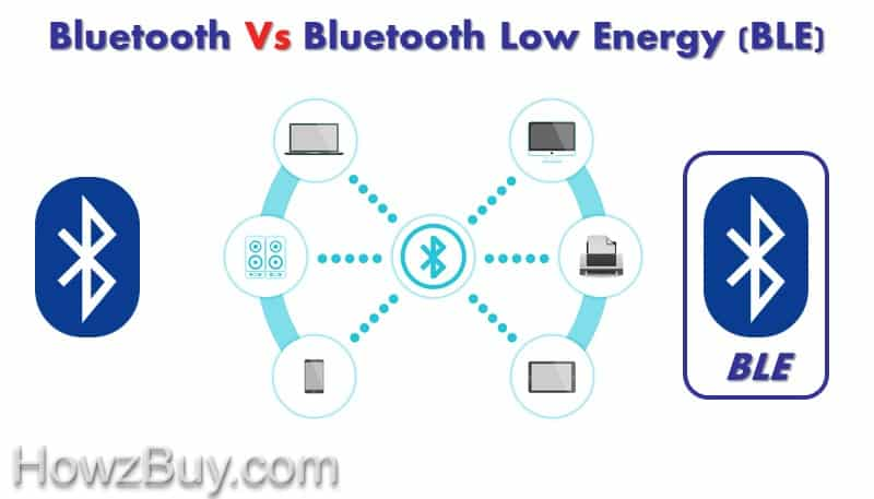 Bluetooth Vs Bluetooth Low Energy (BLE) Difference