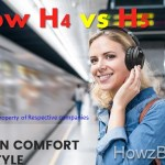 Mpow H4 vs H5 Over Ear Bluetooth Headphones Comparison