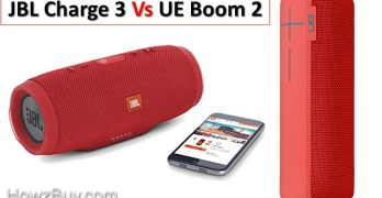 JBL Charge 3 vs UE Boom 2 : Which is the Best Speaker ?