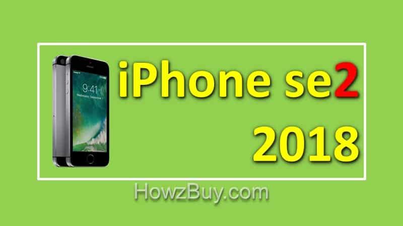 iphone se2 2018 release date
