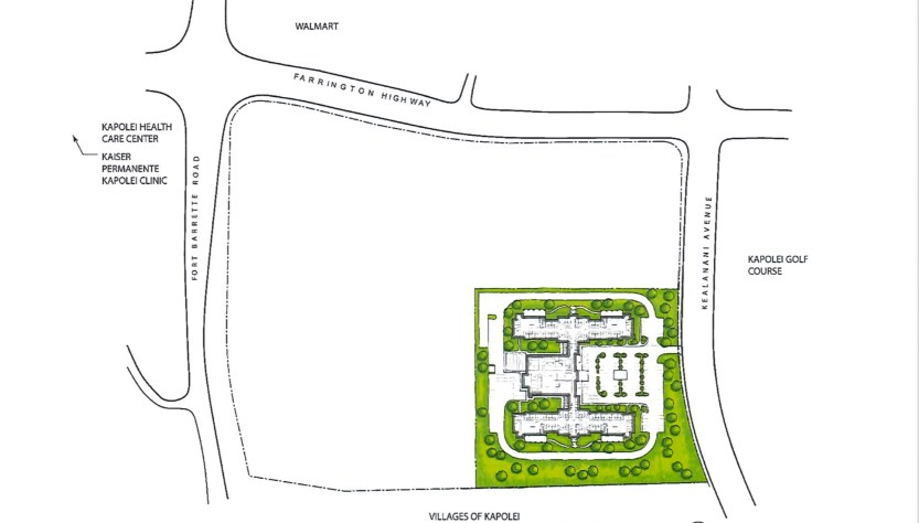 wide view of proposed veterans home