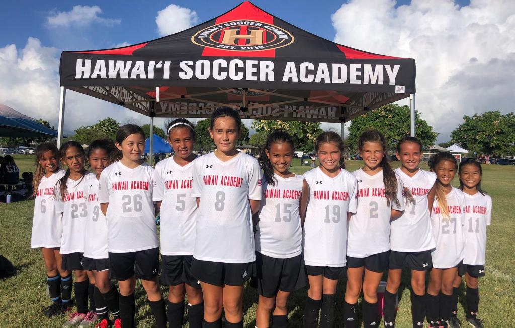 Hawaiʻi Soccer Academy girls team