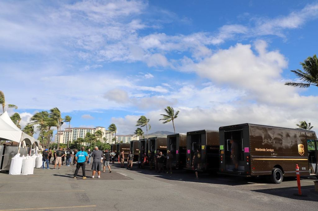 rollout of Ko Olina thanksgiving outreach