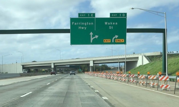 There's A New Kapolei Exit Off The H1