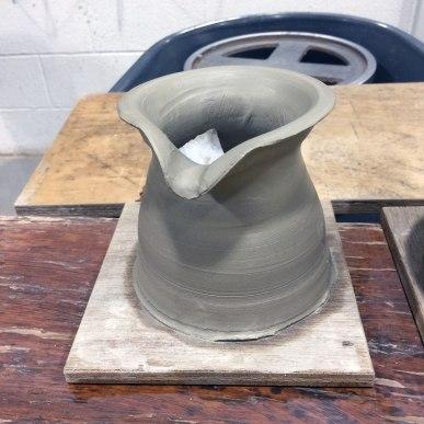 Week 6 - First jug thrown