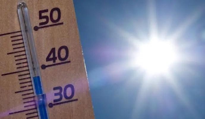 Seguirán las  altas temperaturas. Fuente externa.