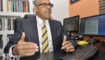 Julio César de la Rosa Tiburcio, presidente de Alianza Dominicana Contra la Corrupción (ADOCCO).