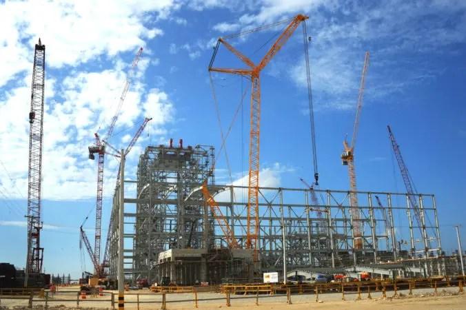 Construccion planta Punta Catalina. Hoy/Fuente Externa 17/1/17