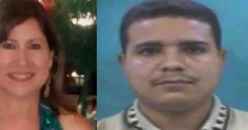 A la izquierda: Delcy Yapor. A la derecha: El exraso Franklin Padilla Núñez, homicida involuntario.