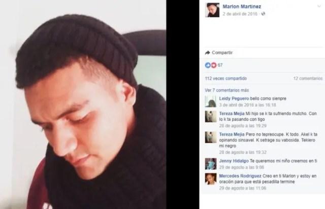 Marlon Martinez perfil