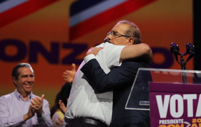 Danilo Medina y Gonzalo