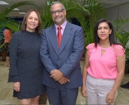 Altagracia Ortíz, Manuel Rodríguez y Doris Pantaleón