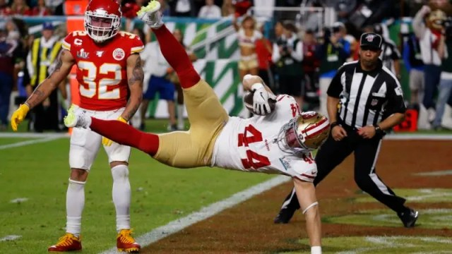 APTOPIX 49ers Chiefs Super Bowl Football