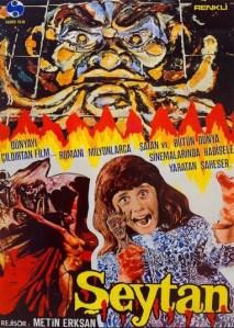 Seytan Exorcista Turco Poster