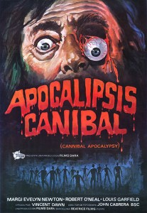 Apocalipsis Canibal POSTER