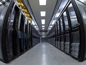 Pasillo del Datacenter.