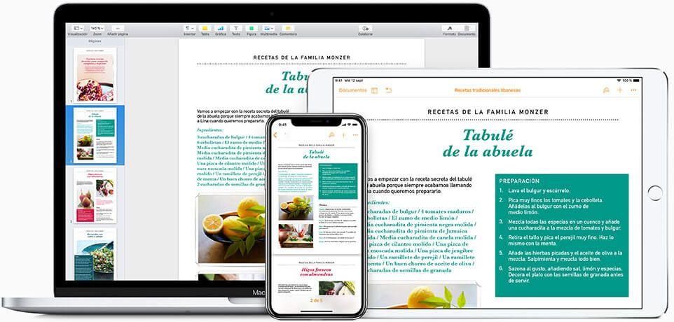 Pages para Mac