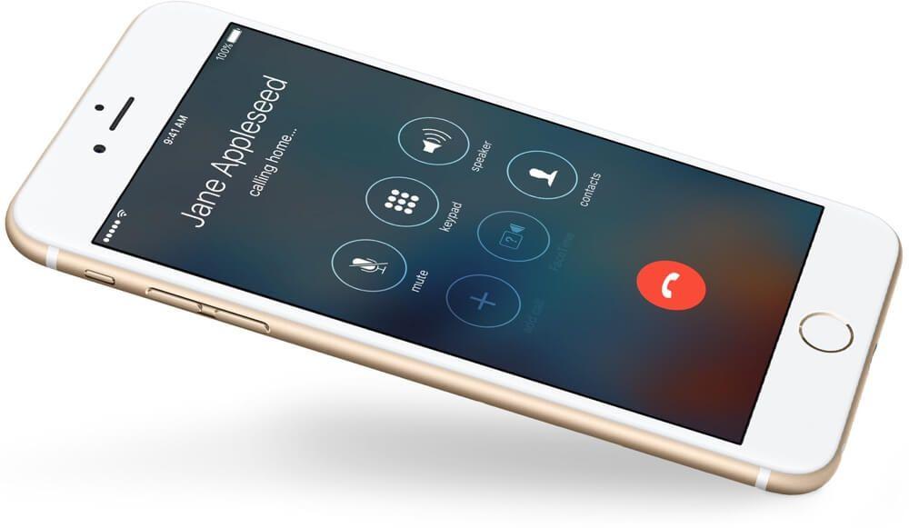 iPhone Llamada