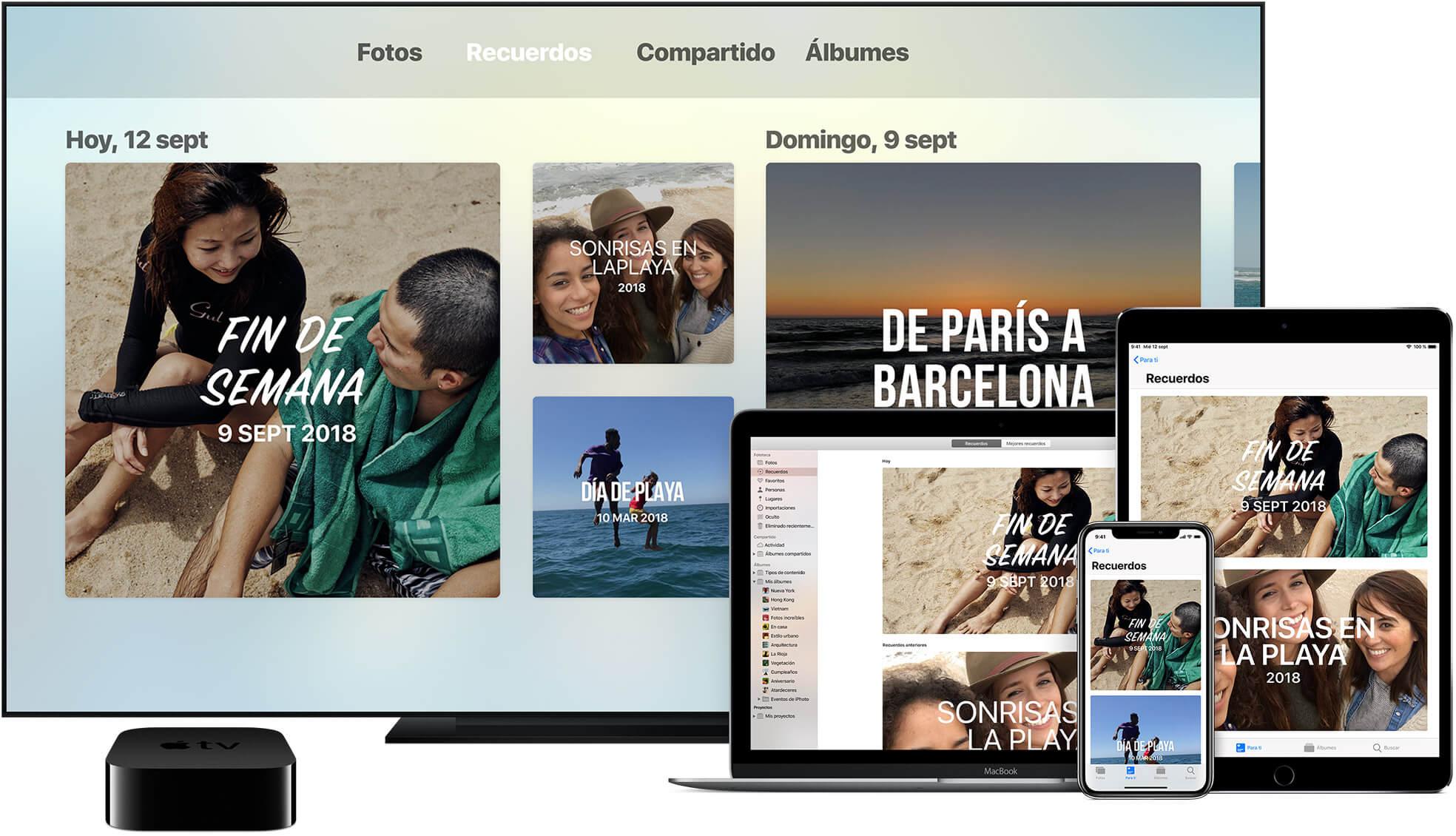 Fotos en iCloud