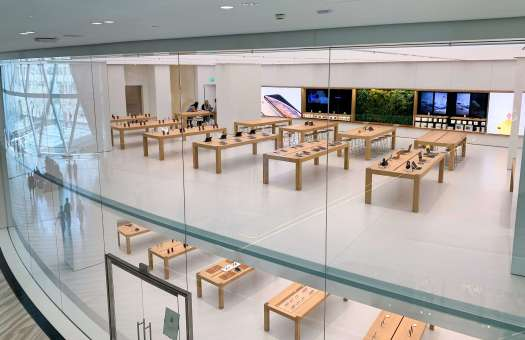 Apple Store aeropuerto Jewel Changi - Singapore