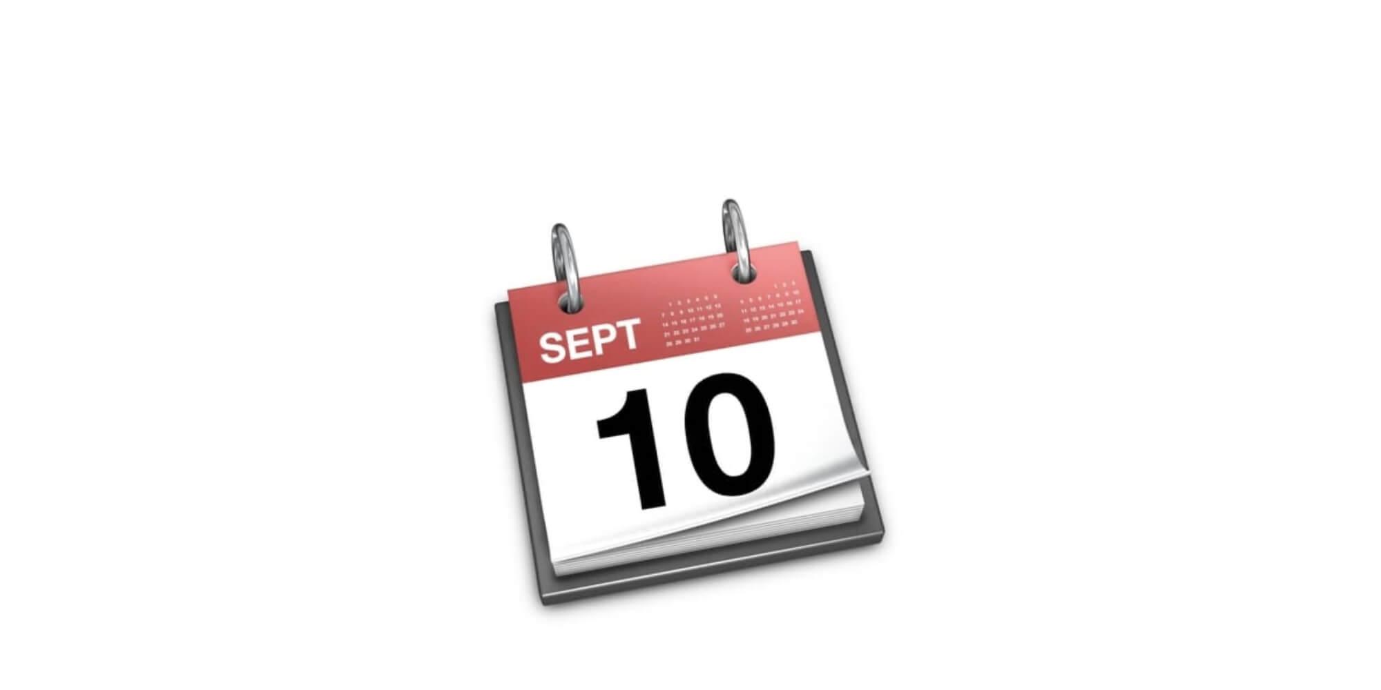 10 de septiembre
