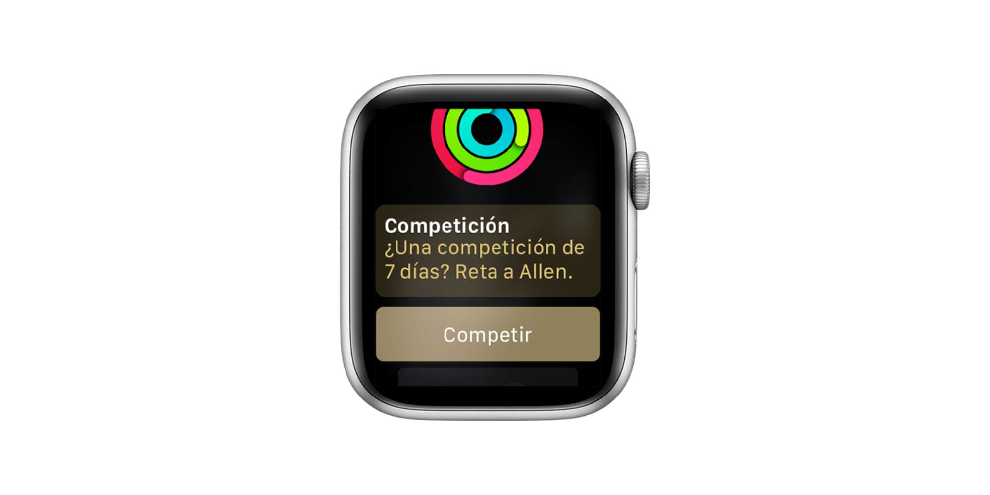 Competición Apple Watch