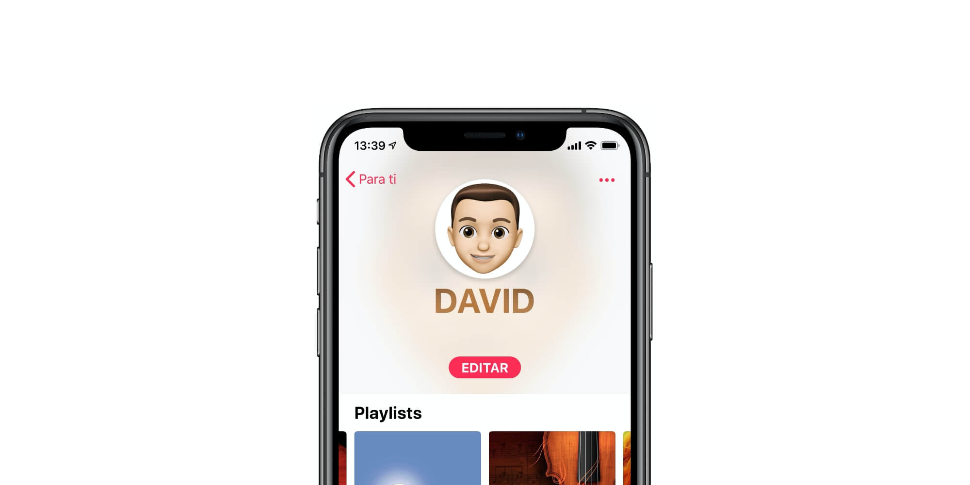 Perfil Apple Music