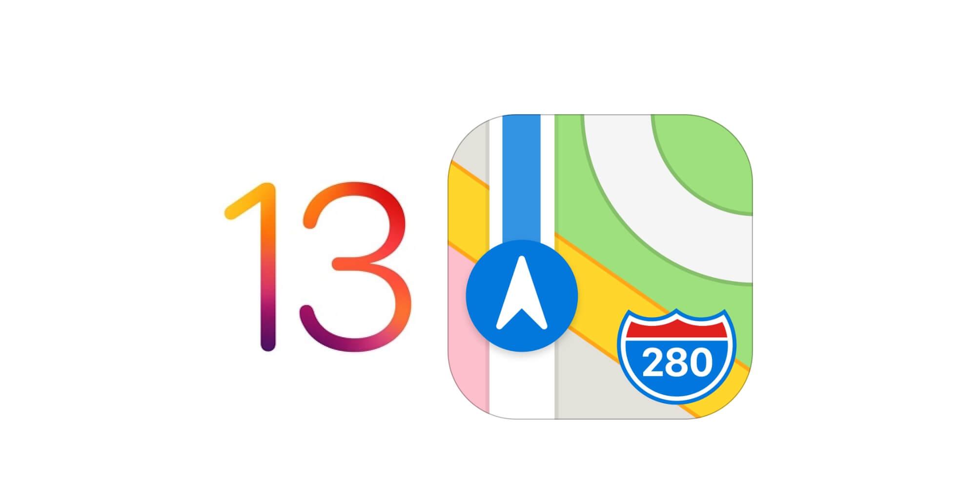 Maps iOS 13