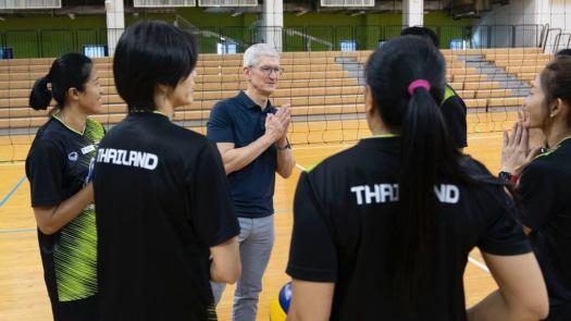 Tim Cook Tailandia 3