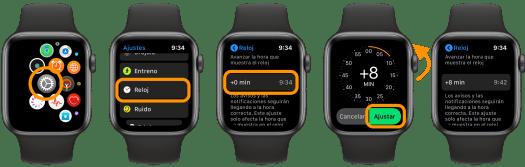 Cómo ajustar la hora de nuestro Apple Watch manualmente (Pasos)
