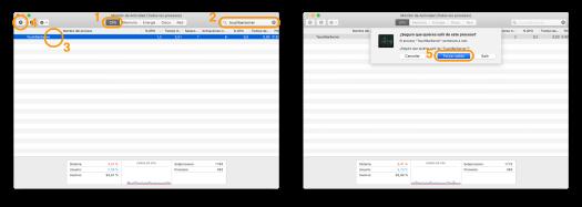 Cómo reiniciar la Touch Bar de nuestro Mac