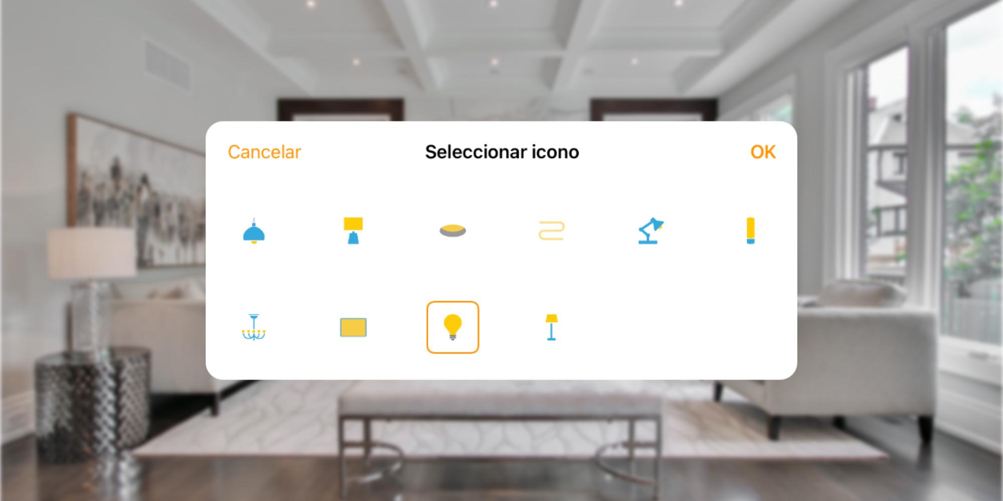 Así podemos personalizar los iconos de los accesorios HomeKit de la app Casa de nuestro iPhone, iPad o Mac